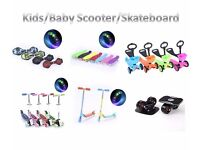 Kids/Children Skateboard/Scooter with LED Flashing Wheels