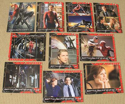 SPIDER-MAN 3 original SEALED 8x10 LOBBY CARD SET James Franco TOBEY MAGUIRE