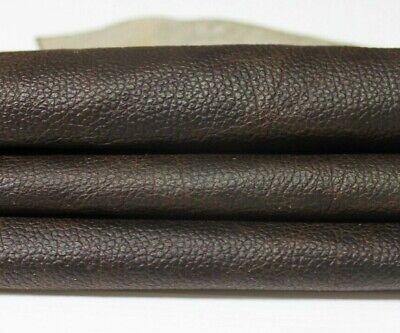 Dark Brown Italian Leather Gloves (DARK BROWN PEBBLE GRAINY distressed Italian Goat leather skin 4sqf 0.7mm #A5320 )