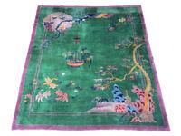 Maple & Co, Chinese, Art Deco rug. C1930 carpet antique Manchester
