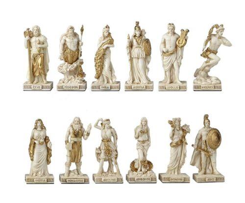 Greek Pantheon The Twelve Olympians Statue Greek Gods Goddesses Zeus Apollo Ares