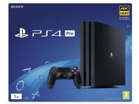 PS4 Pro 1TB - 1 controller, 3 great games