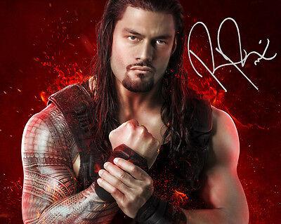 ROMAN REIGNS #1 (WWE) - 10X8 PRE PRINTED LAB QUALITY PHOTO PRINT