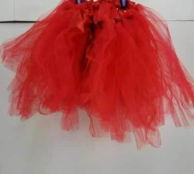 Little Girl's Handcrafted Red Tutu Halloween Fantasy Dress-up  Dancer Outfit Y5](Little Girls Halloween Outfits)