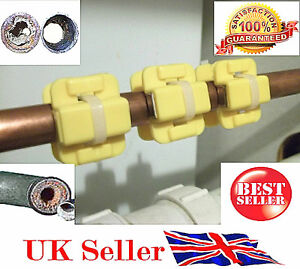 3 x Magnetic Descaler Limescale Remover Water Conditioner SOFTENER Filter XT-W4