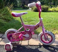 Vélo fille 10 pouces