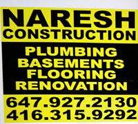 Naresh Construction - FREE QUOTE (NO CHARGE)