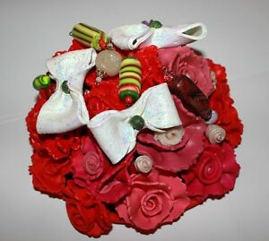 SCULPTURE DE FLEURS BONBONS  SCULPTURE FLOWERS CANDY DECORATION West Island Greater Montréal image 6