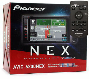 SALE BRAND new PIONEER car NAVIGATION DOUBLE DIN - AVIC-6200NEX