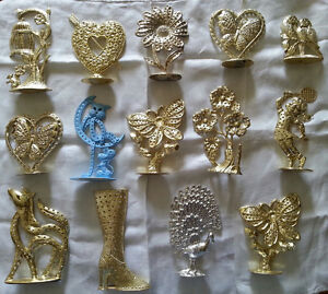 Vintage 1970s earring stands