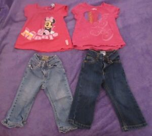 Girl's clothes size 18 months