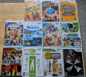 Wii & PS3 Games