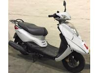 2012 12 YAMAHA XC 125 E VITY LEARNER LEGAL WHITE SCOOTER PROJECT TRADE SALE CATC