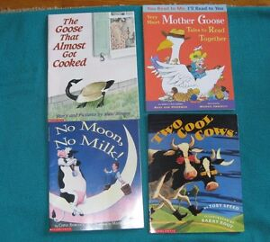 Primary Reading Books Goose and Cow Theme