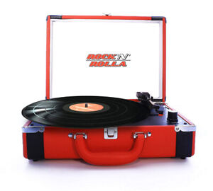 Rock n Rolla portable turntable