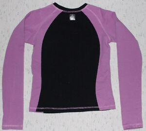 Yogini warm-up top for figure skating - Dusty Mauve and Black Kitchener / Waterloo Kitchener Area image 3