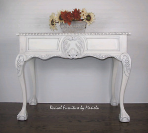 Entryway Table/ Console Table (solid wood)