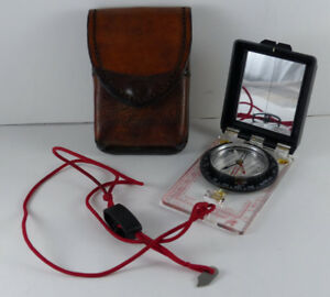 Silva Ranger Compass Type 15 including Leather Holster Case