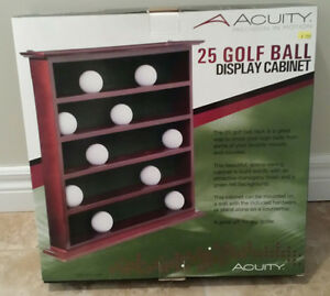 Golf Ball Display Cabinet - NEW!