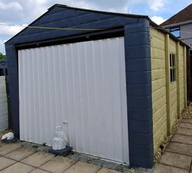 Prefab concrete garage