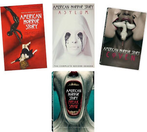 American Horror Story seasons 1-5 DVD like new