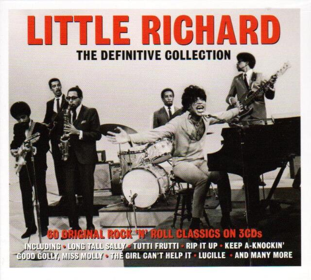LITTLE RICHARD - THE DEFINITIVE COLLECTION - 60 ORIGINAL CLASSICS (NEW 3CD)