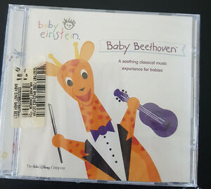 Baby Einstein cd never used