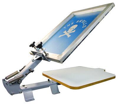 1 Color Screen Printing Press Printer Simple Silk Screen Diy Table Print Machine