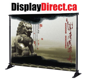 IMPACT MEDIA WALL | BANNER STAND | TRADE SHOW DISPLAY