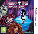 Monster High New Ghoul In School (Nintendo 3DS)