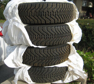 ***15 inch Winter Tires - Goodyear Nordic - P195 / 65 R15***