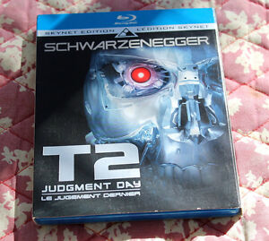 Film bluray Terminator 2 Skynet Edition Rare