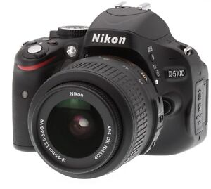 Nikon D5100 w/ 18-55mm and 35 mm Prime lens
