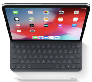 Barely used iPad Pro with pencil and keyboard folio *mint
