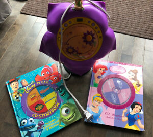 Tinkerbell CD player and Disney CD books