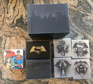 Canadian Mint Batman vs Superman Coin Collection