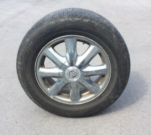 Goodyear Assurance All-Weather Tires and Rims