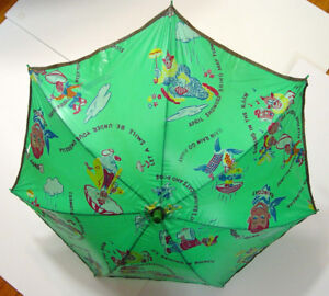 HOWDY DOODY CHILD'S UMBRELLA: has HOWDY HEAD HANDLE