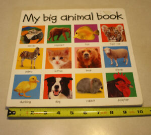 2 Books - My Big World & My Big Animal Books