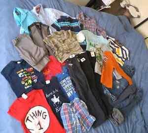 20.00 EUC boys clothes sizes 4T-6T