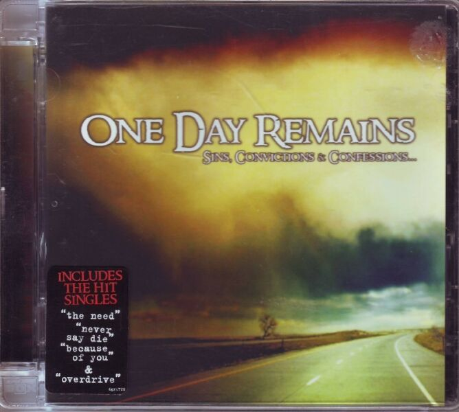 One Day Remains - Sins, Convictions & Confessions (CD) R100 negotiable
