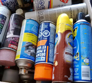 Spray paint: $2/can or $25/box assorted aerosol cans Kitchener / Waterloo Kitchener Area image 1