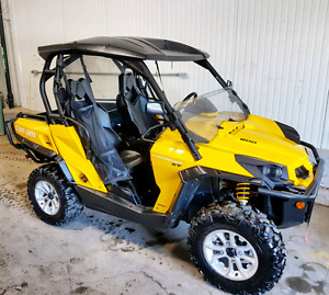 2015 Canam Commander 800 XT PS, WARRANTY, FINANCING AVAILABLE!