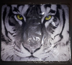 New Black And White Tiger Mouse Pad