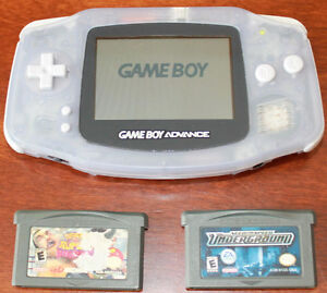 Gameboy Advance Console & Games