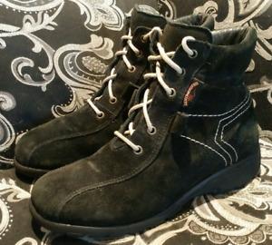SAUTE MOUTON Womens 38(7) Winter Boots