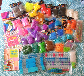 Loom Band Crafting (massive) Collection!
