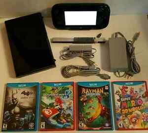 NINTENDO Wii U PACKAGE * MINT / LIKE NEW / COMME NEUF