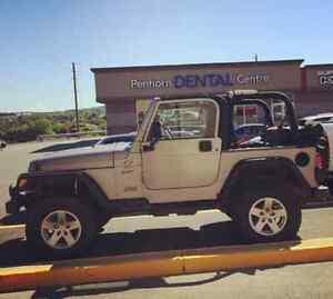 Fs: 2000 jeep tj