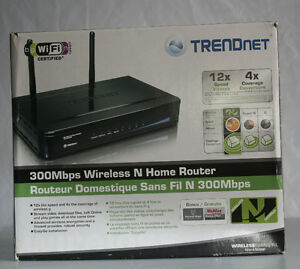 ROUTER WI FI ''N ''(TRENDNET) 300 MBPS    NEUF